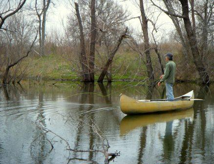 Canoe Angler
