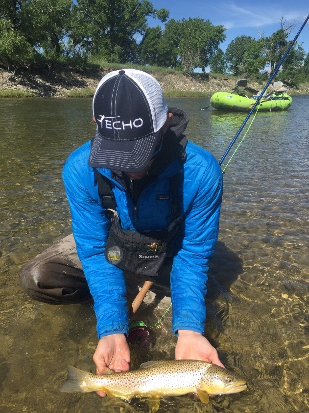 Matney Brown Trout ECHO Hat